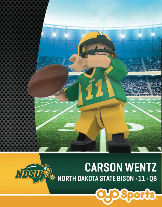 Mini Figurine - Carson Wentz by Oyo Sports