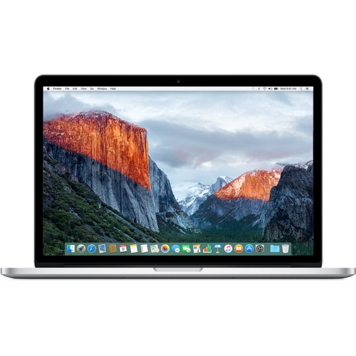 Apple MacBook Pro 15-Inch: 2.2GHz quad-core i7 256GB-Sliver