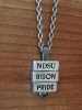 "Necklace ""Bison Pride"" - by 212 West (Pewter)"