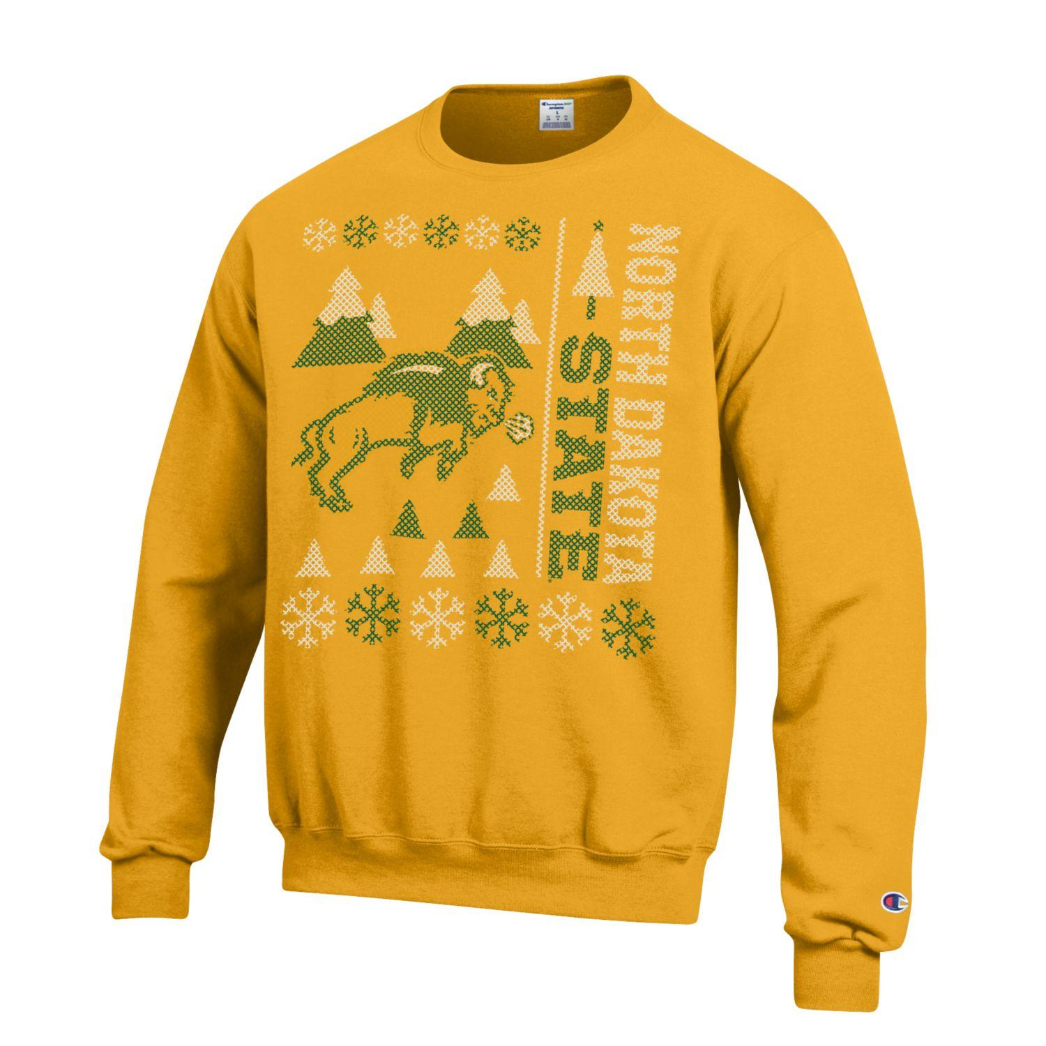 "Crew Sweatshirt - Holiday by Champion ""Ugly Sweater"""