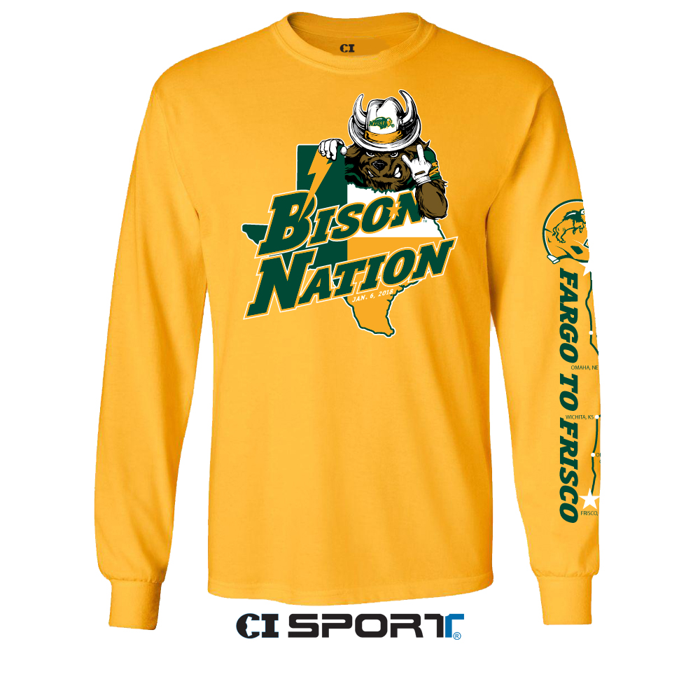 Long Sleeve T-Shirt - Fargo to Frisco Gold