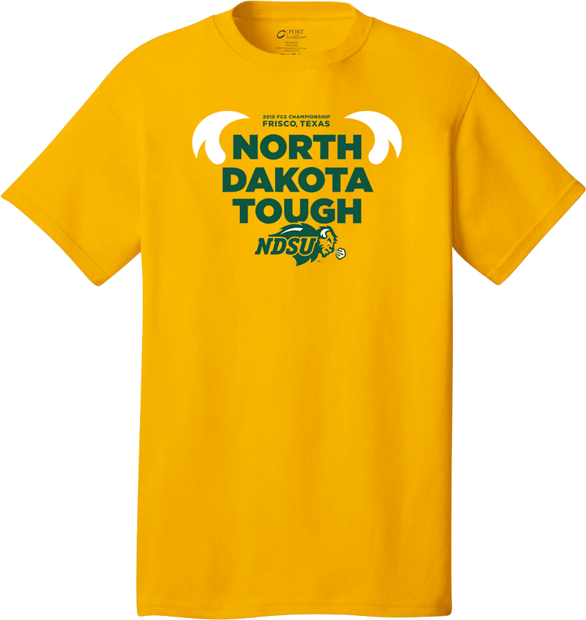 T-Shirt - North Dakota Tough FCS National Championship