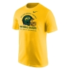 T-Shirt - National Champions Helmet Gold by Nike