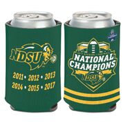 Can Coozie - National Champions Green by Wincraft