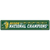 Street Sign - National Champions by Wincraft