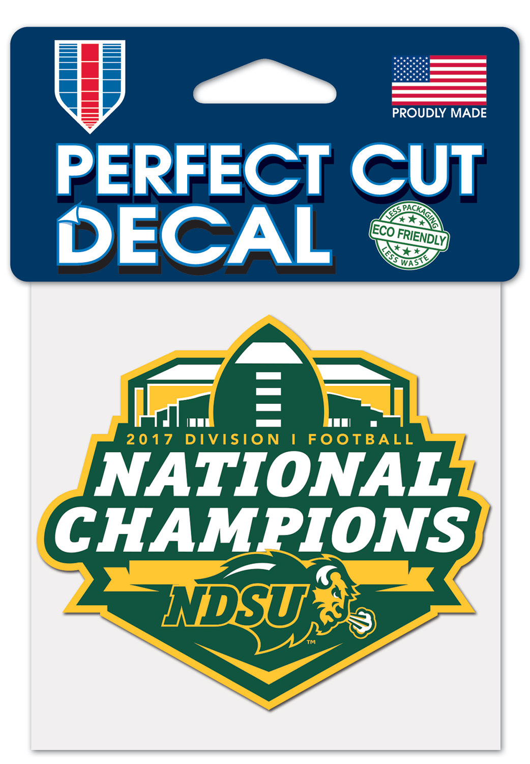 Decal - National Champions by Wincraft
