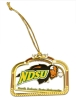 Holiday Ornament - Bison Brass