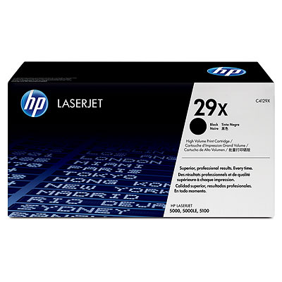 Cover Image For HP TONER C4129X BLACK