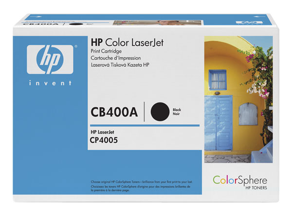 Cover Image For HP TONER CB400A BLACK