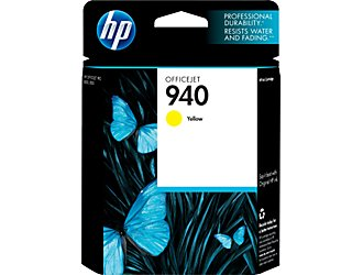Image For HP INK 940 YELLOW C4905AN