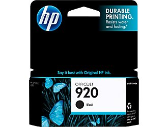 Image For HP INK 920 BLACK CD971AN