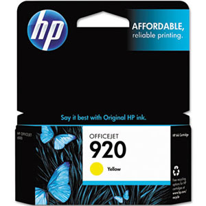 Image For HP INK 920 YELLOW CH636AN