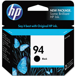 Cover Image For HP INK 94 BLACK C8765WN