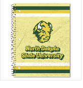 Image For NDSU Notebook - 5X7