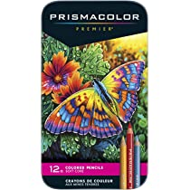 Image For PRISMACOLOR PREMIER SOFT CORE COLORED PENCILS 12 SET