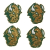 Cover Image for Glitter Tattoo - 4-Pack NDSU Bison Logo