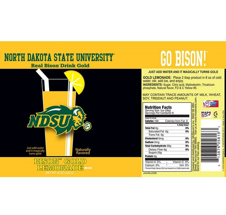 Image For Bison Gold Lemonade
