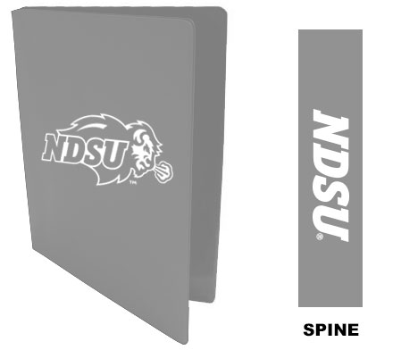 "Cover Image For BINDER 1.5"" IMPRINT GRY"