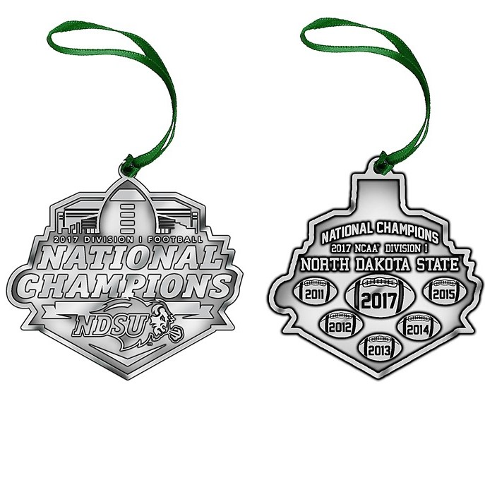 Cover Image For Holiday Ornament - National Champions