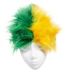Image for Wig - Green & Gold