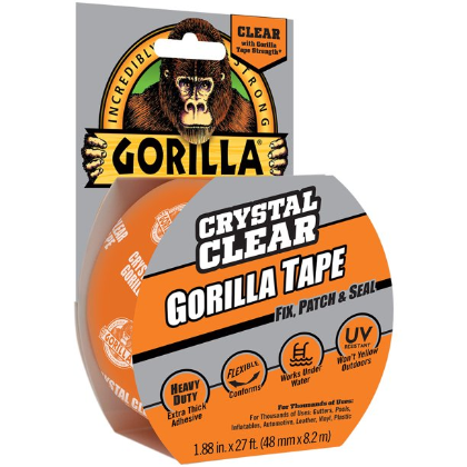 Image For GORILLA CRYSTAL CLEAR TAPE