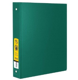 "Cover Image For BINDER 1.5"" O-RING GREEN"