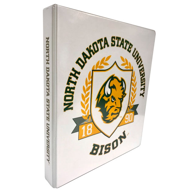 "Cover Image For Binder 1.5"" D-Ring - NDSU Imprinted"