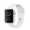 Image for Apple Watch Series 1, 38mm Silver Aluminum Case with White