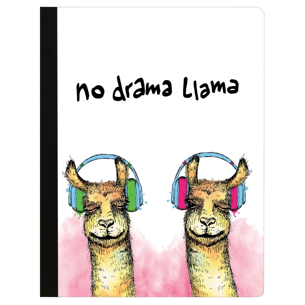 Image For Composition Notebook - No Drama Llama