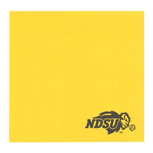 Image For POST-IT NDSU BISON NOTES
