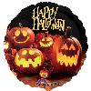 "Image for Happy Halloween Pumpkins - 18"" Mylar Balloon"