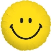 "Image for Smiley Face - 18"" Mylar Balloon"