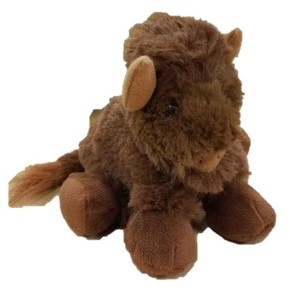 Image For Plush - Small floppy Bison (non-logo)