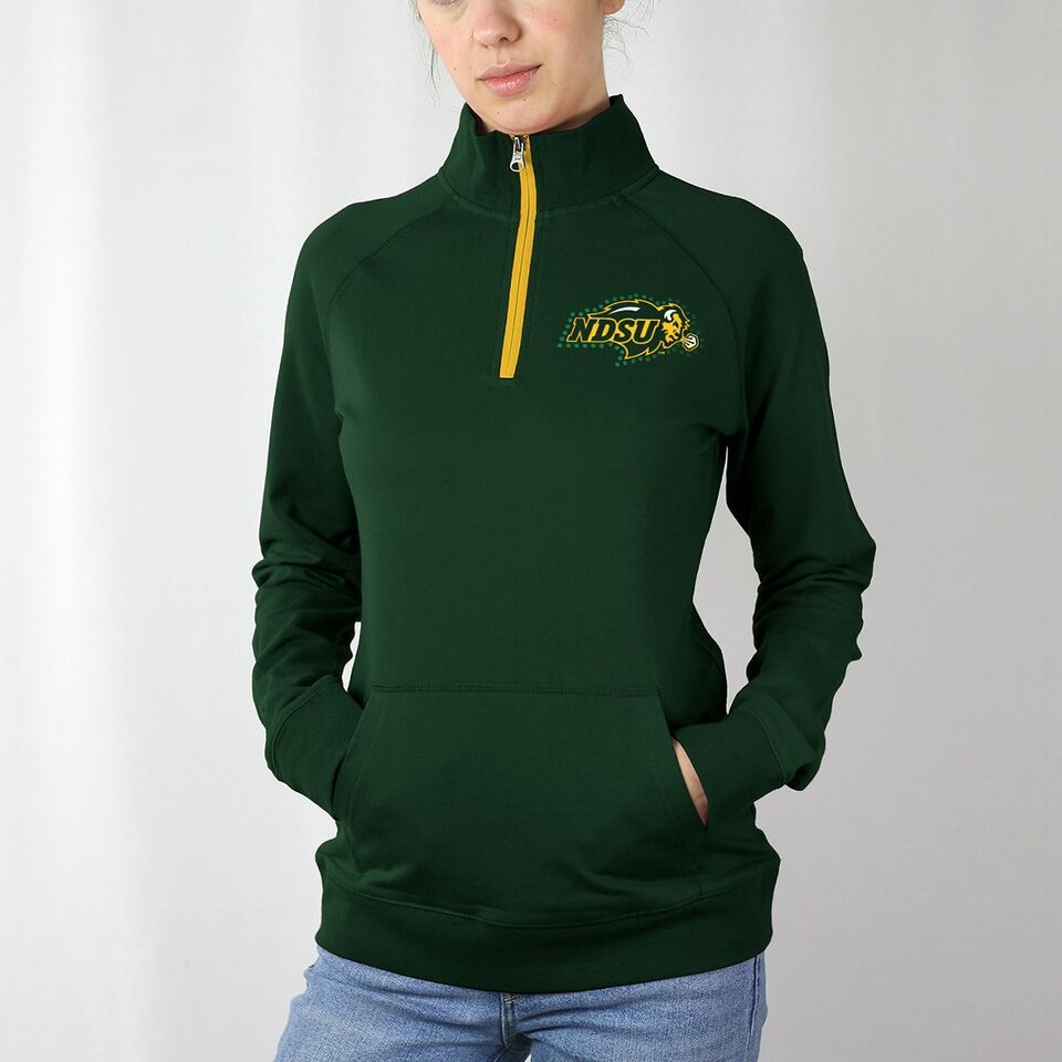 Image For 1/4 Zip Crew - Ladies