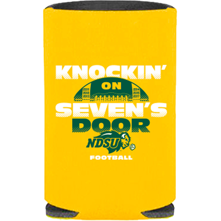 Image For Coozie - Knockin' on Seven's- 2018 FCS National Championship