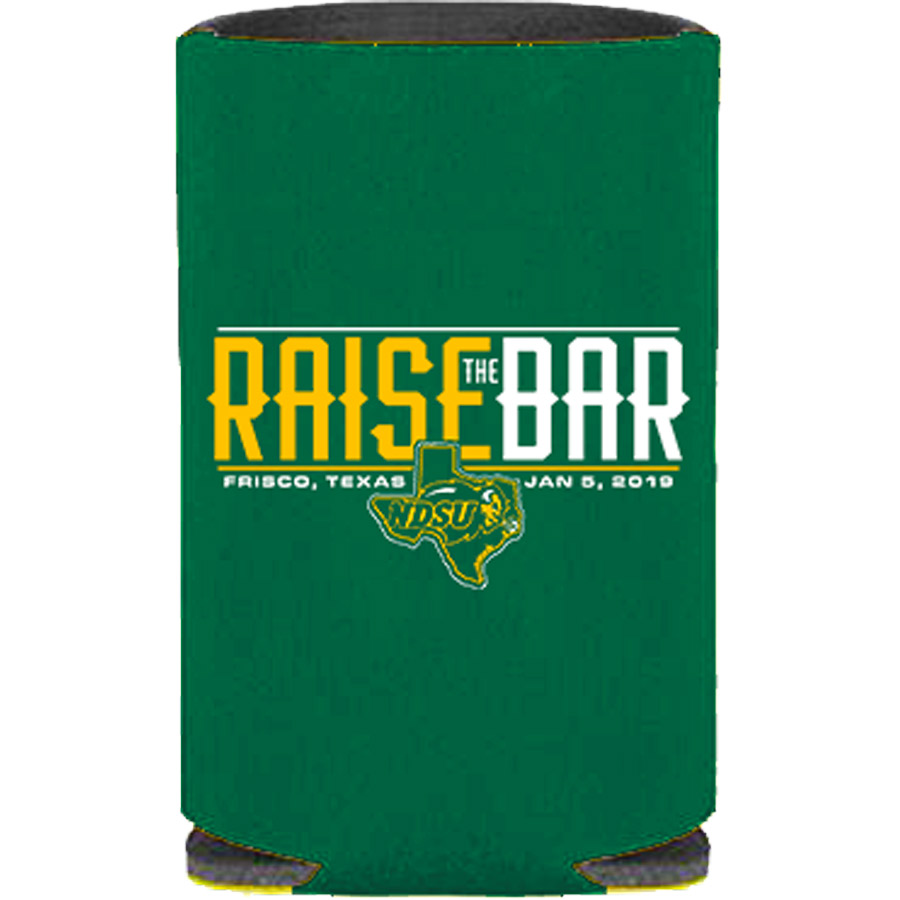 Image For Coozie - Raise the Bar - 2018 FCS National Championship