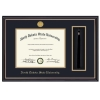 "Cover Image for Diploma Frame - ""Prestige"" Gold Medallion"