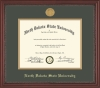 "Image for Diploma Frame - ""Grandeur"" Gold Medallion"