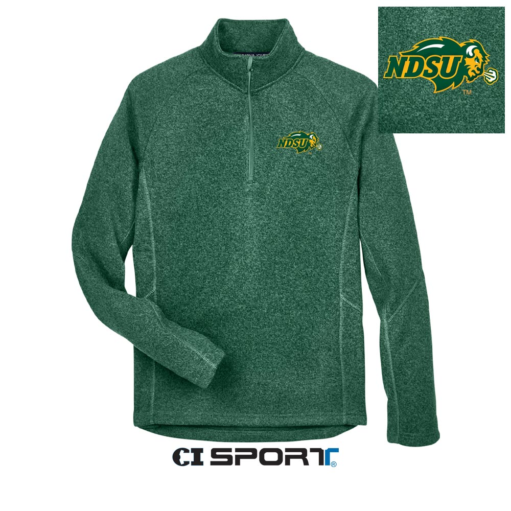 Image For 1/4 Zip Crew - by CI Sport