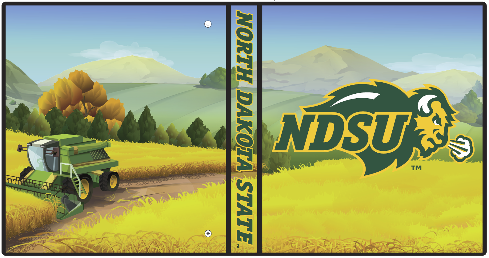 Image For Binder - NDSU Tractor 1""