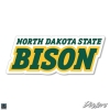 Cover Image for Decal – NDSU Stacked Text