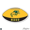 """Cover Image for Decal - 5"""" Football Banner"""