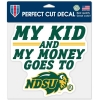 Cover Image for Decal – ND State Plaid