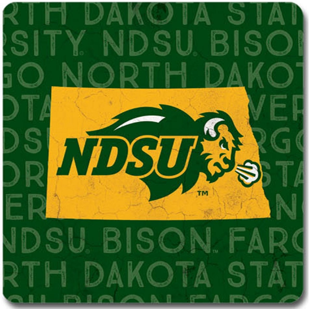 Image For Coaster - ND State