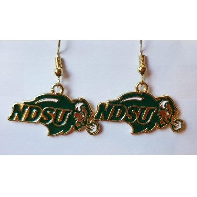 Image For Earrings - NDSU Bison Logo