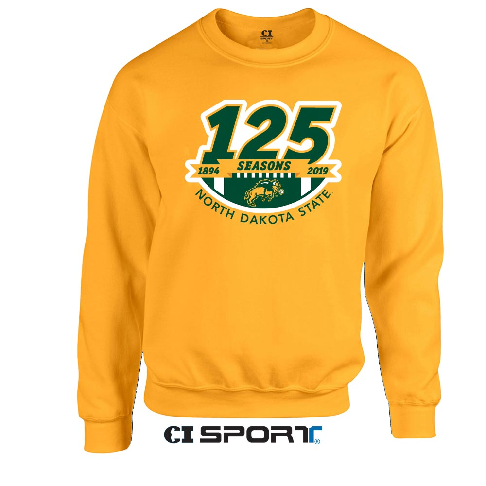 Cover Image For Crew Sweatshirt - 125 Seasons of Football