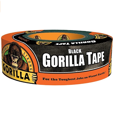 Image For GORILLA TAPE BLACK 1.88""