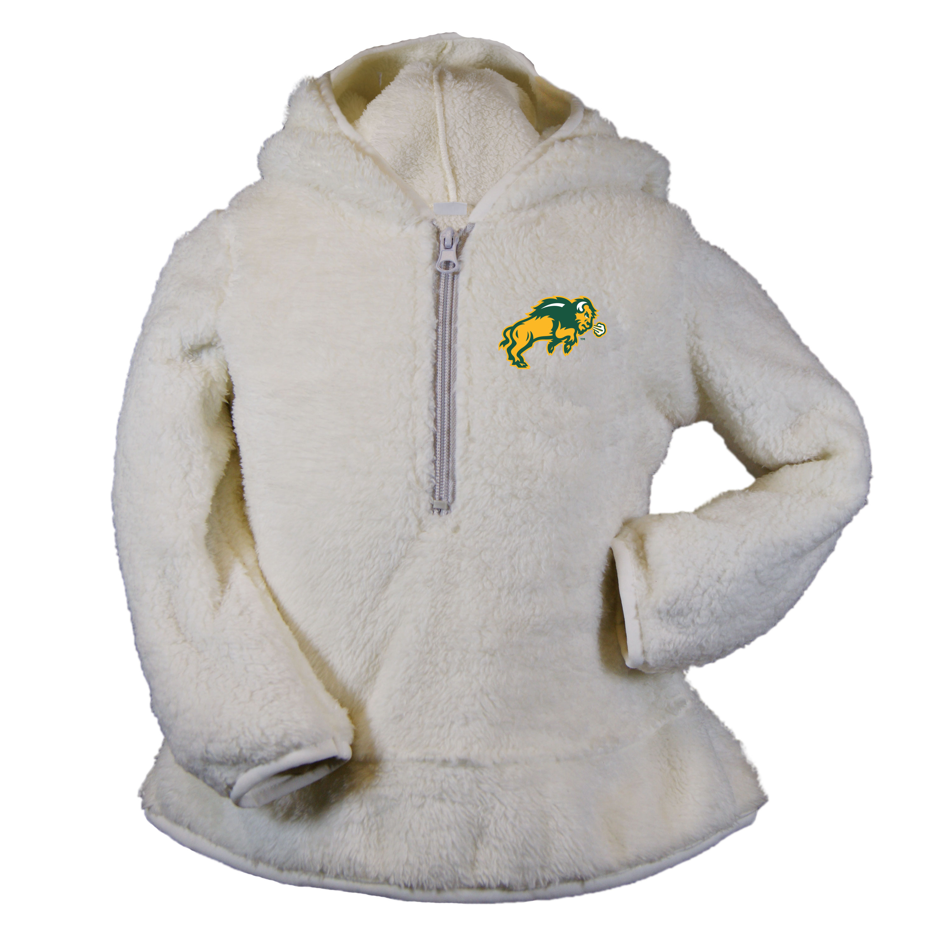 Image For 1/4 Zip Hood - Youth by Garb