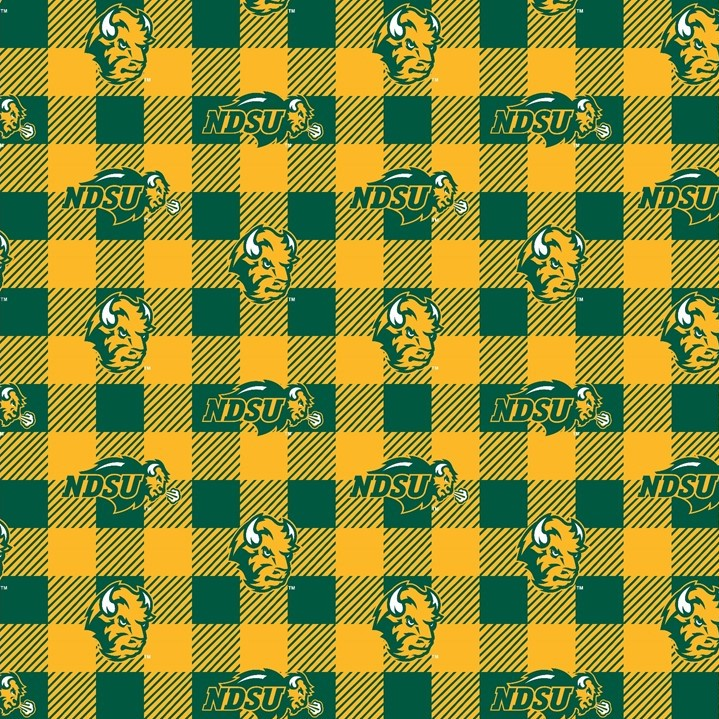 Cover Image For Fabric - Bison Plaid - Fleece