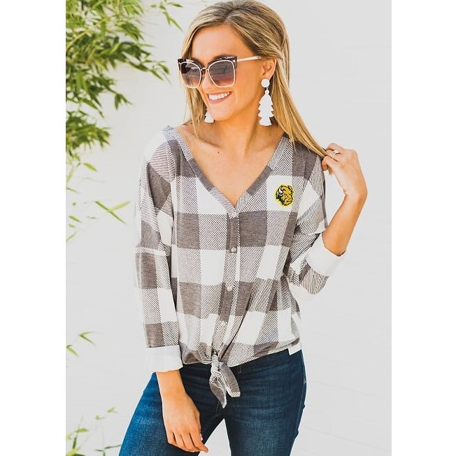 Image For Button Up Shirt - Ladies by Gameday Couture